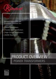 Power Transformers - Ruhstrat GmbH