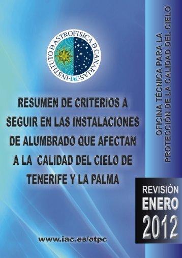 documentos varios - Instituto de Astrofísica de Canarias