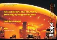 Rigips magazín léto 2009