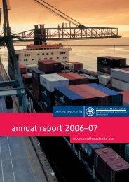 Annual Report 2006-07 - DMITRE - SA.Gov.au