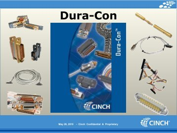 Dura-Con - Cinch Connectors