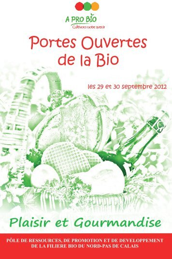 Portes Ouvertes de la Bio - A PRO BIO