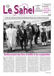 Sahel - Nigerdiaspora
