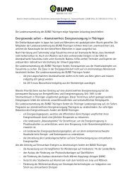 Leitantrag - BUND e.V. Landesverband Thüringen
