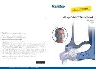 Mirage Vista™Nasal Mask - Alpine Home Medical Equipment