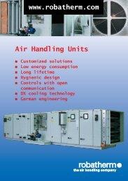 Air Handling Units www.robatherm.com - SIFEE Action