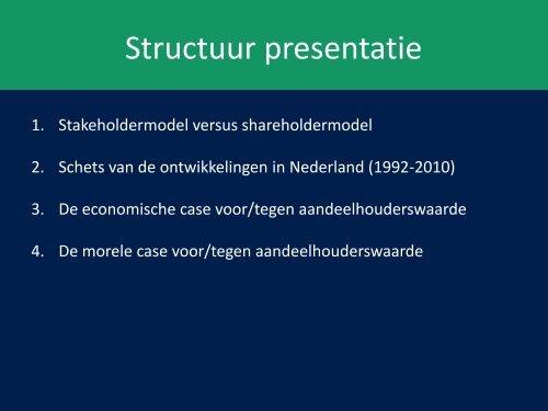 Shareholder Value Orientation