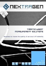 Trafficlyser Measurement Solutions - pertexo.de
