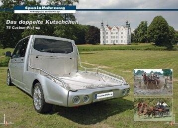 Volkswagen T5 Custom-Pick-up - T5 Pickup HOME