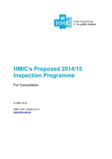 hmic-inspection-programme-consultation-2014-2015