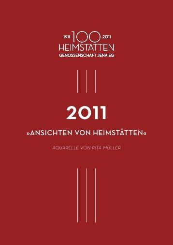 Ansichten von heimstätten« - Heimstätten Genossenschaft Jena eG