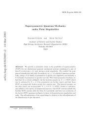 arXiv:hep-th/0302089 v2 14 Mar 2003
