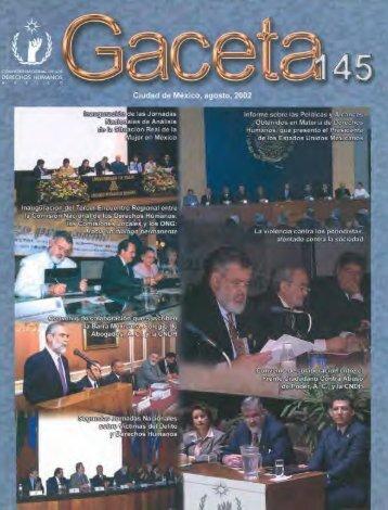 gaceta de la comisión nacional de los derechos humanos