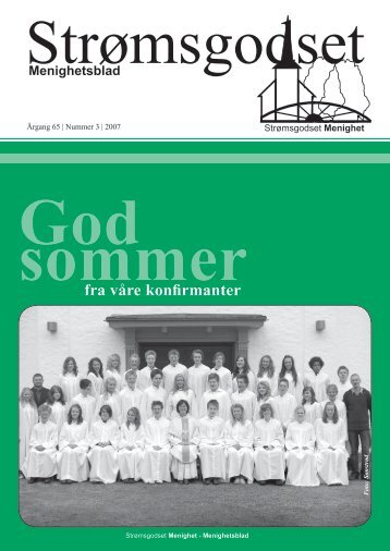 Nr 3 Mai 2007 - Den norske kirke i Drammen