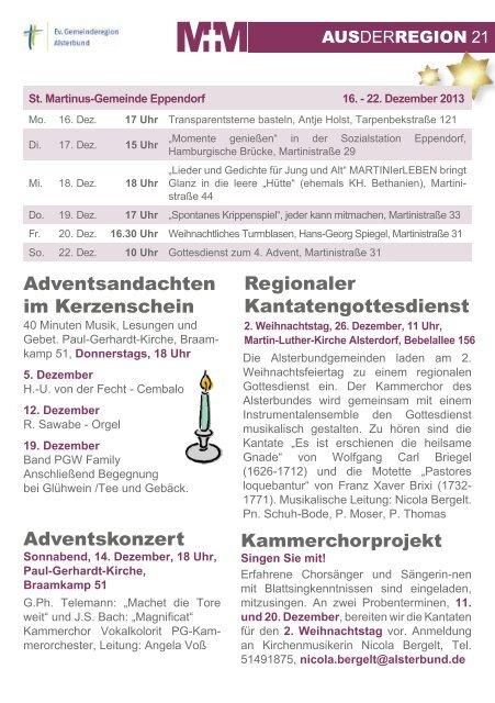 Dezember 2013 - Februar 2014 - Alsterbund