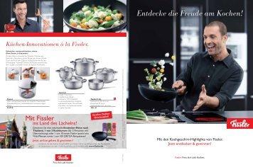 Entdecke die Freude am Kochen! - Fissler GmbH