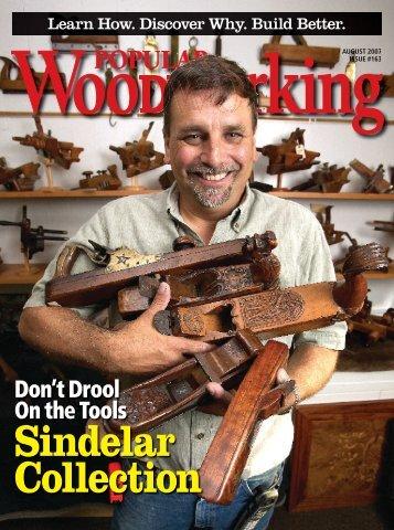 Sindelar Collection - Popular Woodworking Magazine