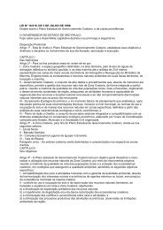 Plano Estadual de Gerenciamento Costeiro - cetesb