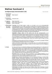 Vermögensanlagen-Informationsblatt - GeldWelt.de