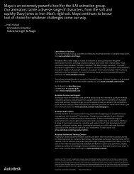 Autodesk Maya 2009 Overview - Tata Technologies