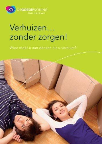 Verhuizen… zonder zorgen! - De Goede Woning