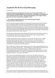 Argumente für die Free-Gaza-Bewegung - Christine Buchholz