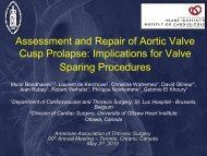 Assessment and Repair of Aortic Valve Cusp Prolapse: Implications ...