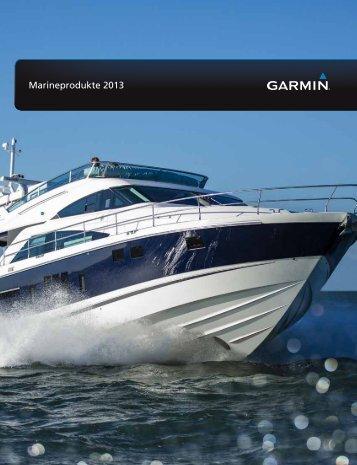 Garmin Marinekatalog - Seekarten + Flightshop Bernwieser