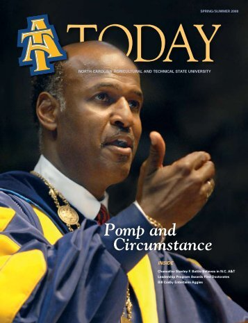 Pomp and Circumstance - North Carolina A&T State University