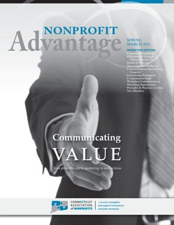 March 2011 - Connecticut Association of Nonprofits