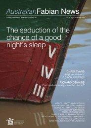 The seduction of the chance of a good night's sleep - Australian ...