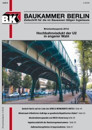 BK-Heft 2013-04 - Baukammer Berlin