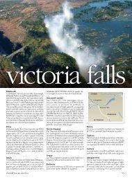 Victoria Falls - I Viaggi dell'Airone