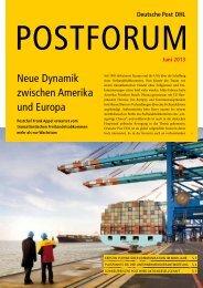 Neue Dynamik zwischen Amerika und Europa - Deutsche Post DHL