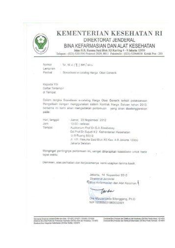 kementerian kesehatan ri - Direktorat Jenderal Bina Kefarmasian ...