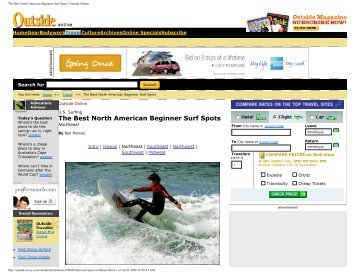 The Best North American Beginner Surf Spots | Outside Online