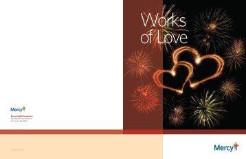 Works of Mercy pledge form