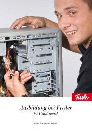 Ausbildung bei Fissler ist Gold wert - Fissler GmbH