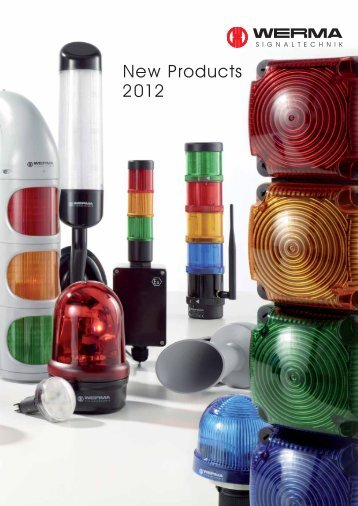 New Products 2012 - Werma