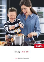 Catalogue 2010 – 2011 - Fissler