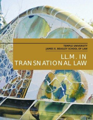 Brochure - Temple University Beasley School of Law