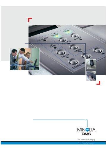 Konica 8031 User manual