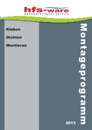 Katalog Kleb- und Dichttechnik - Hfs-Ware
