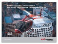 introducing bell helicopter's new short light single turbine helicopter
