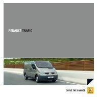 Brochurer til Renault Trafic