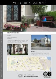 BEVERLy HILLS GARDEn 2 - Al Asmakh Real Estate