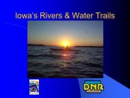 Rivers, Streams and Recreation - Drake University Law School