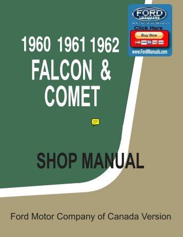 DEMO - 1960-62 Falcon and Comet Shop Manual - FordManuals.com