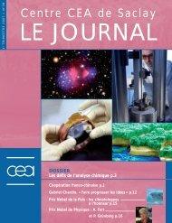 Journal de Saclay n°38 - CEA Saclay