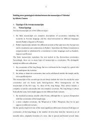 text - Avestan Digital Archive - Universidad de Salamanca